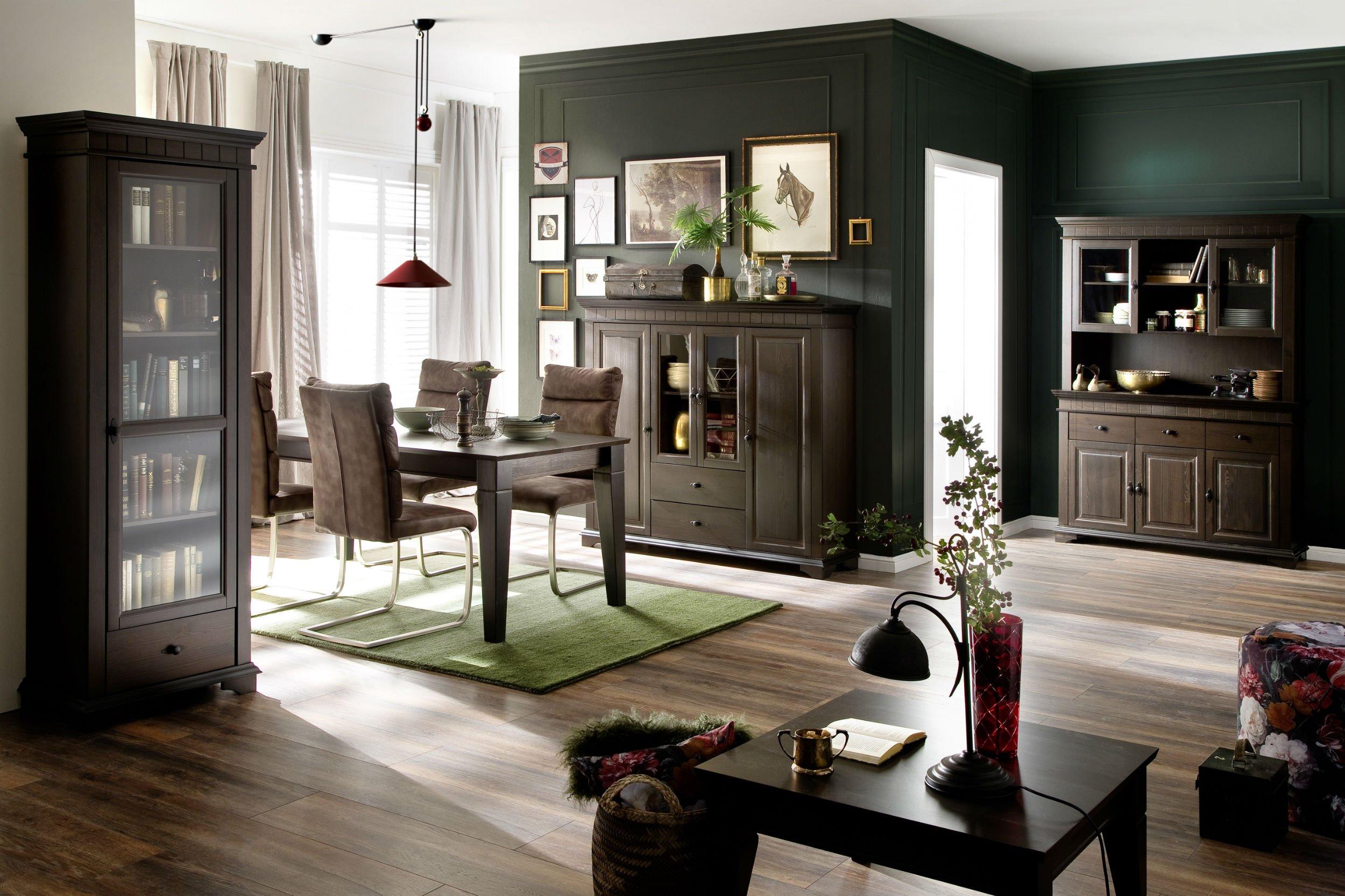 Wohnzimmer Esszimmer Möbel Lyon Kolonial, Bild 2