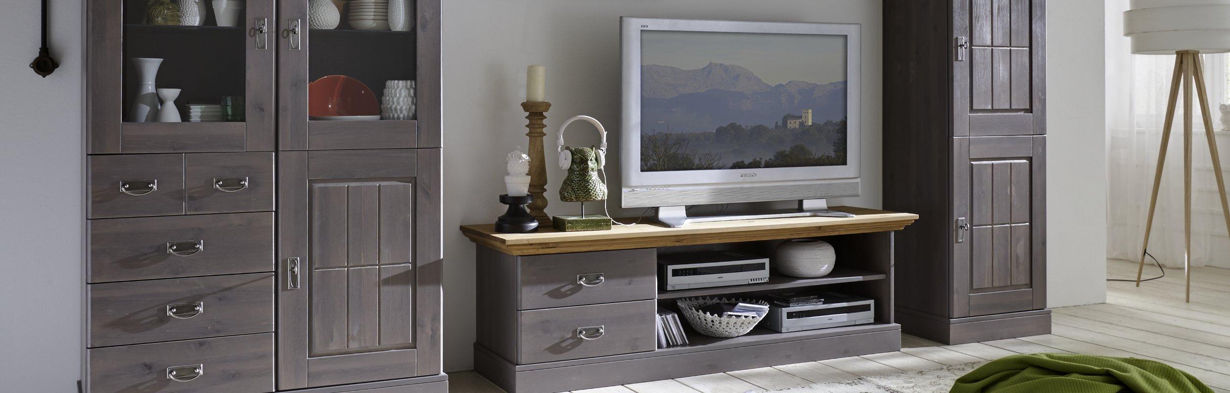 Wohnzimmer Landhausstil Serie Fjord, Bild 3