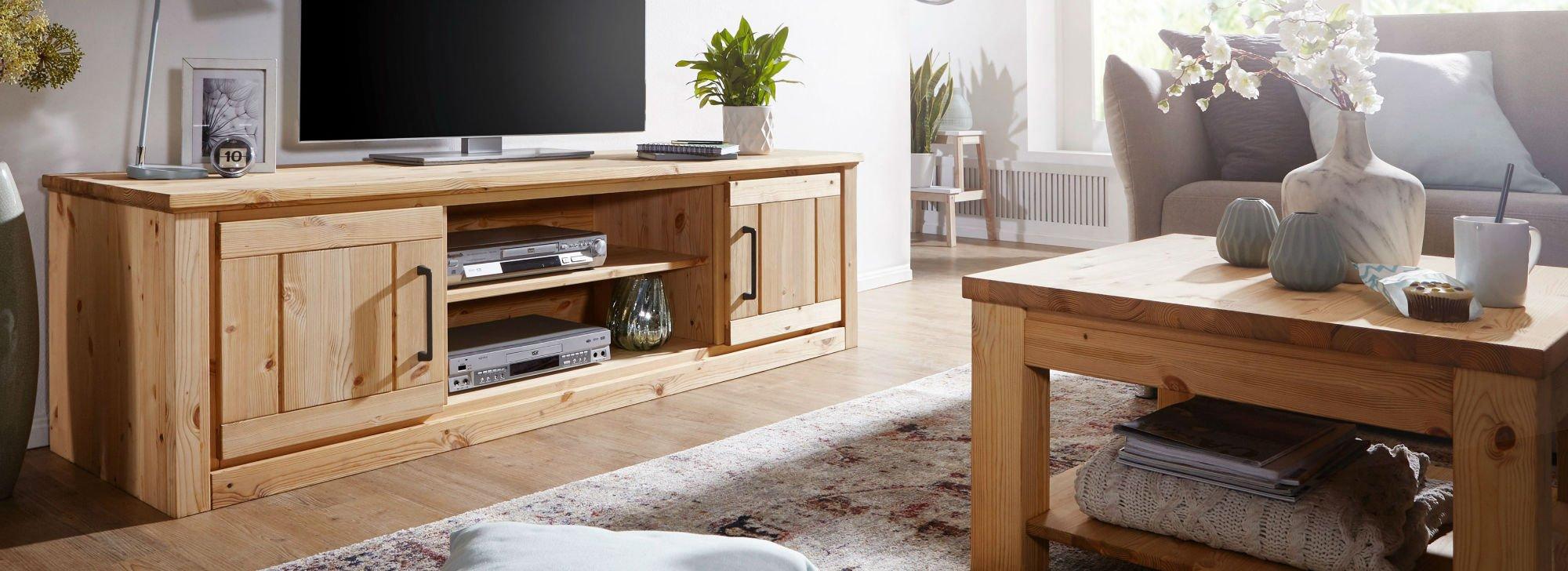Wohnzimmer und Esszimmer Serie Molde Kiefer Massiv, Bild 3