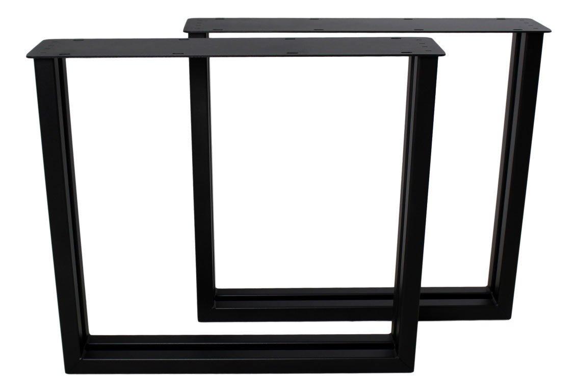 2er Set Tischbeine  U-Modell Metall, Bild 6