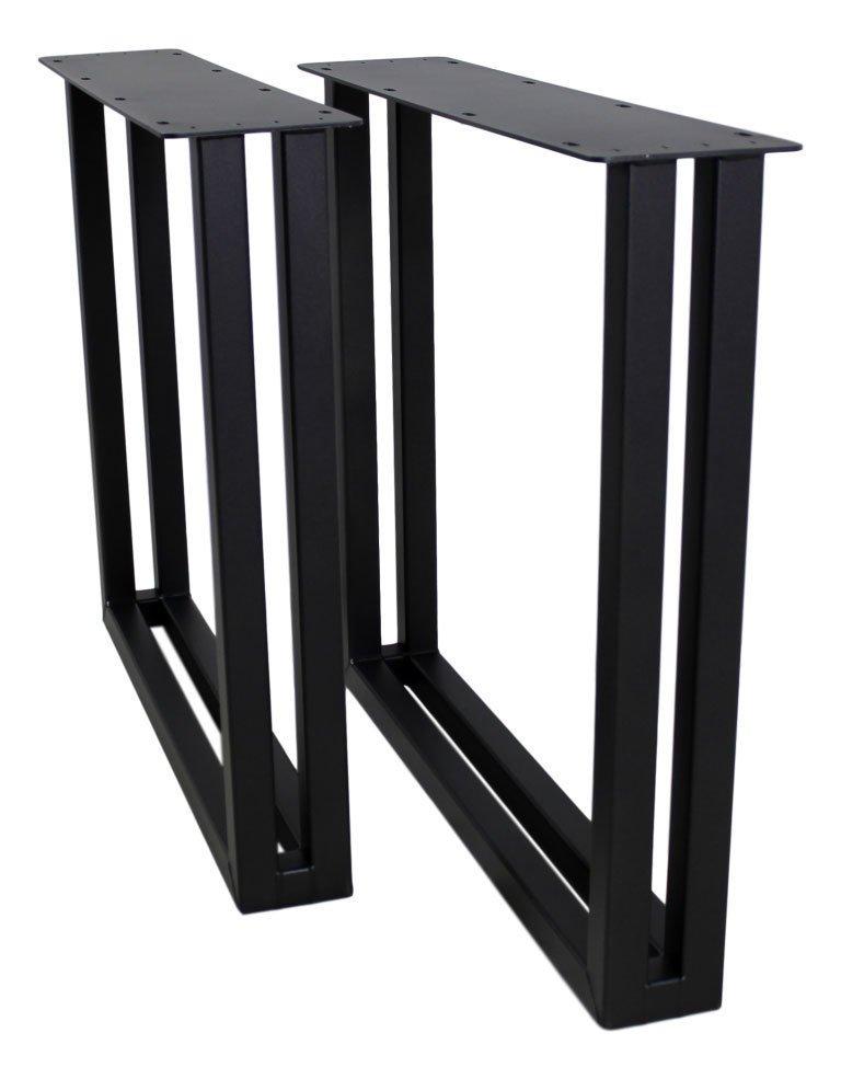 2er Set Tischbeine  U-Modell Metall, Bild 7