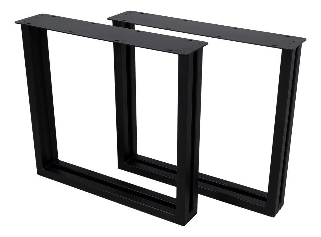 2er Set Tischbeine  U-Modell Metall, Bild 4