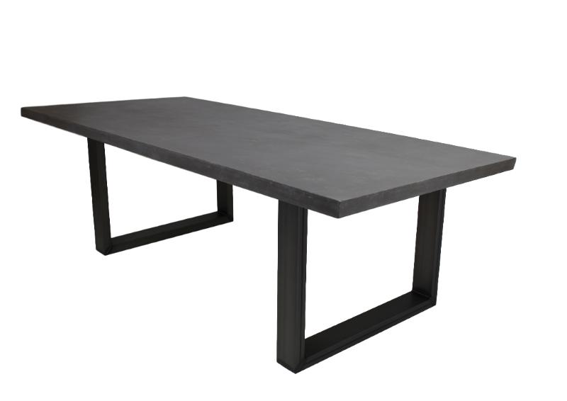 2er Set Tischbeine  U-Modell Metall, Bild 8