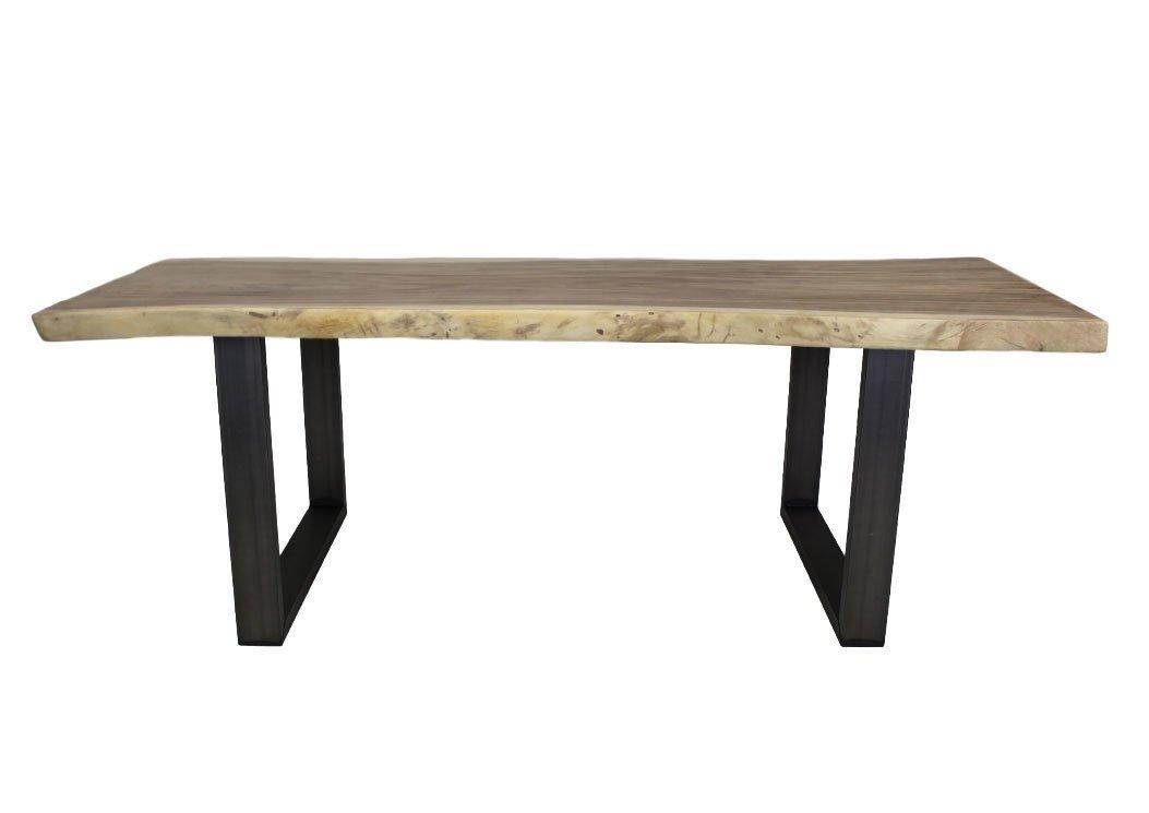 2er Set Tischbeine  U-Modell Metall, Bild 9