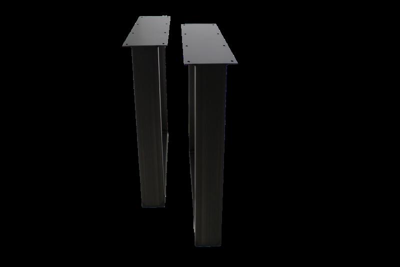 2er Set Tischbeine  U-Modell Metall, Bild 3
