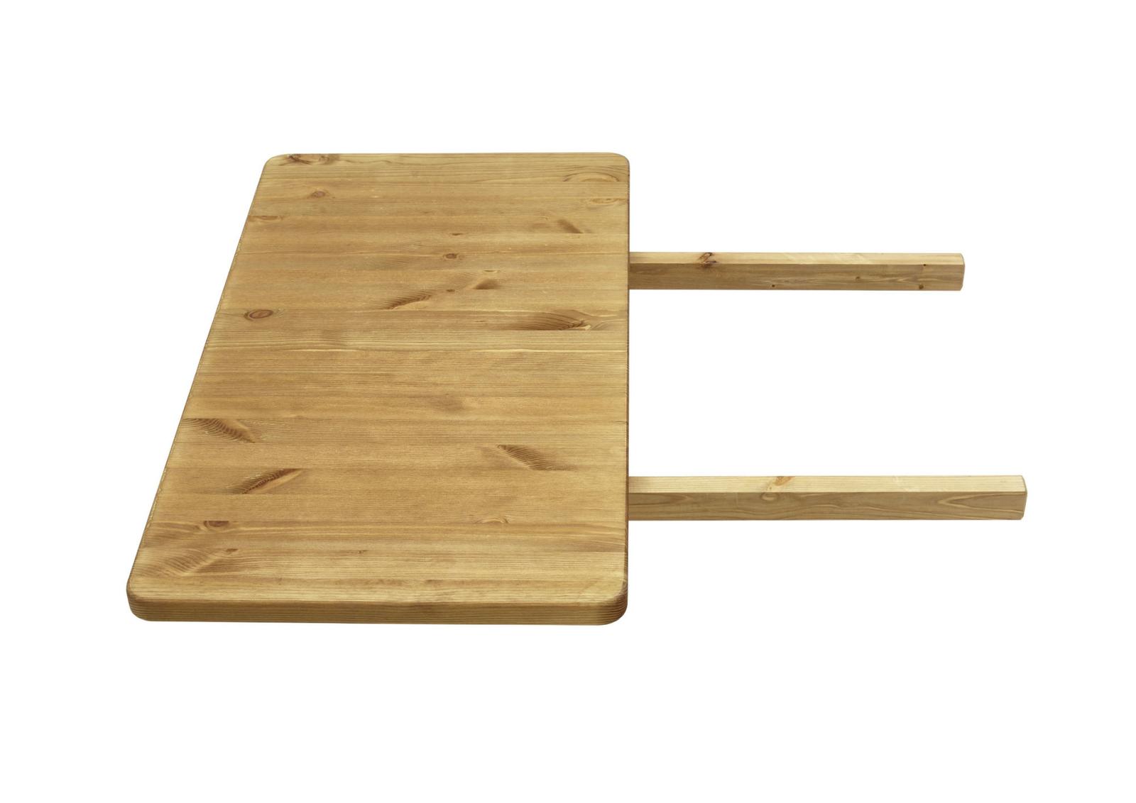 Massivholz Ansteckplatte für Bergen Esstische