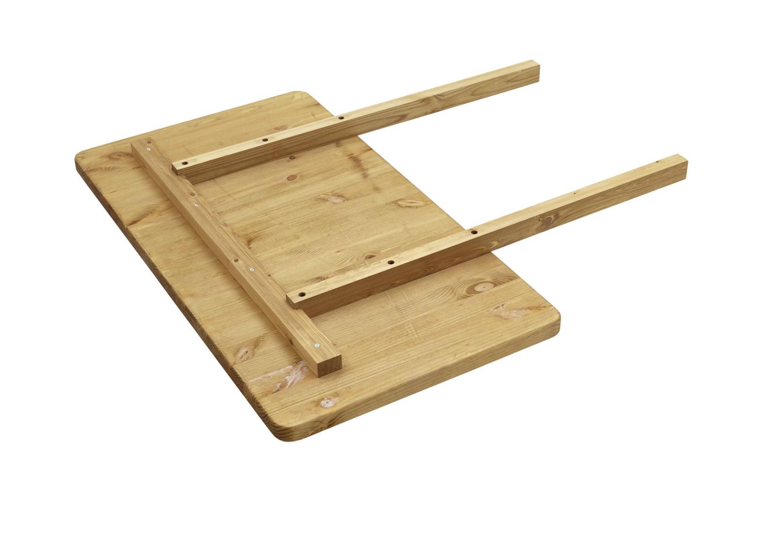Massivholz Ansteckplatte für Bergen Esstische, Bild 2