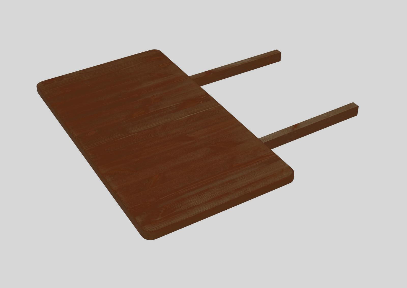 Massivholz Ansteckplatte für Bergen Esstische, Bild 7