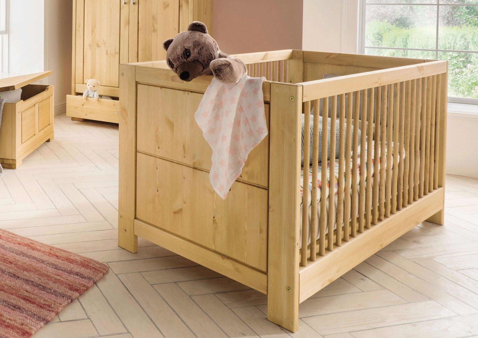 Infans Babybett Vita aus massiver Kiefer