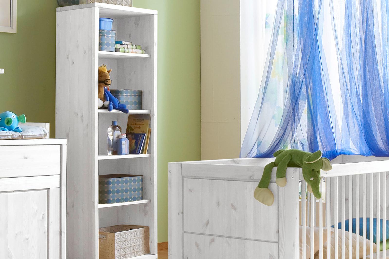 babyzimmer guldborg massivholz wei von luwo g nstig bestellen skanm bler. Black Bedroom Furniture Sets. Home Design Ideas