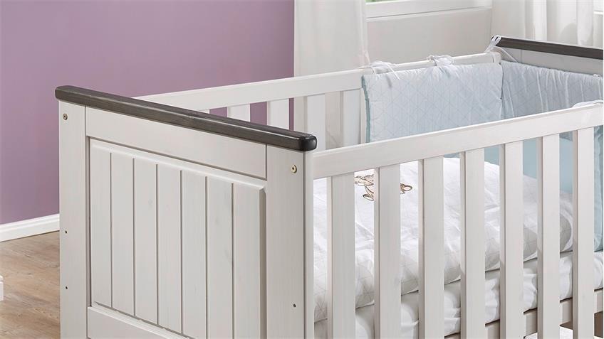 Babyzimmer Jolina Kiefer Massiv Landhausstil, Bild 7
