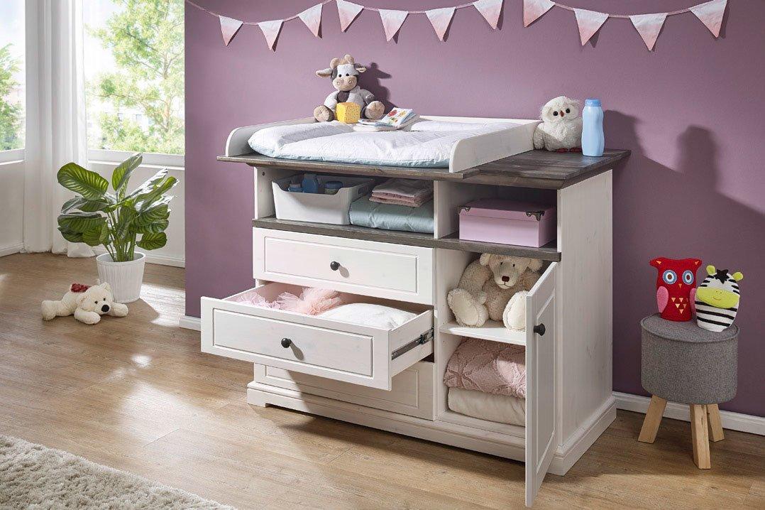 Babyzimmer Jolina Kiefer Massiv Landhausstil, Bild 3