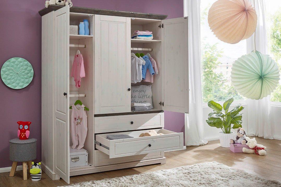 Babyzimmer Jolina Kiefer Massiv Landhausstil, Bild 5