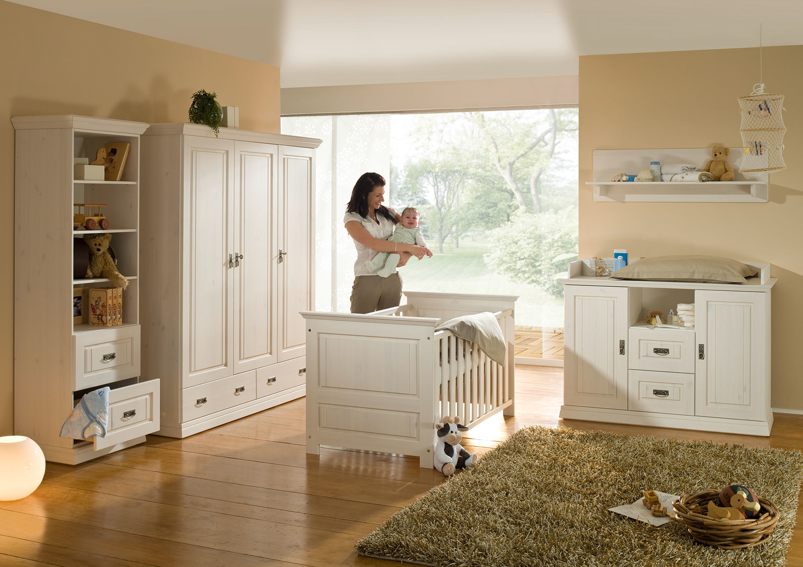 Babyzimmer Odette Kiefer massiv, Bild 2