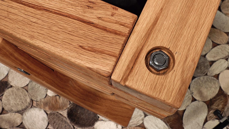 Balkenbett Kiefer Massivholz Apenrade, Bild 2