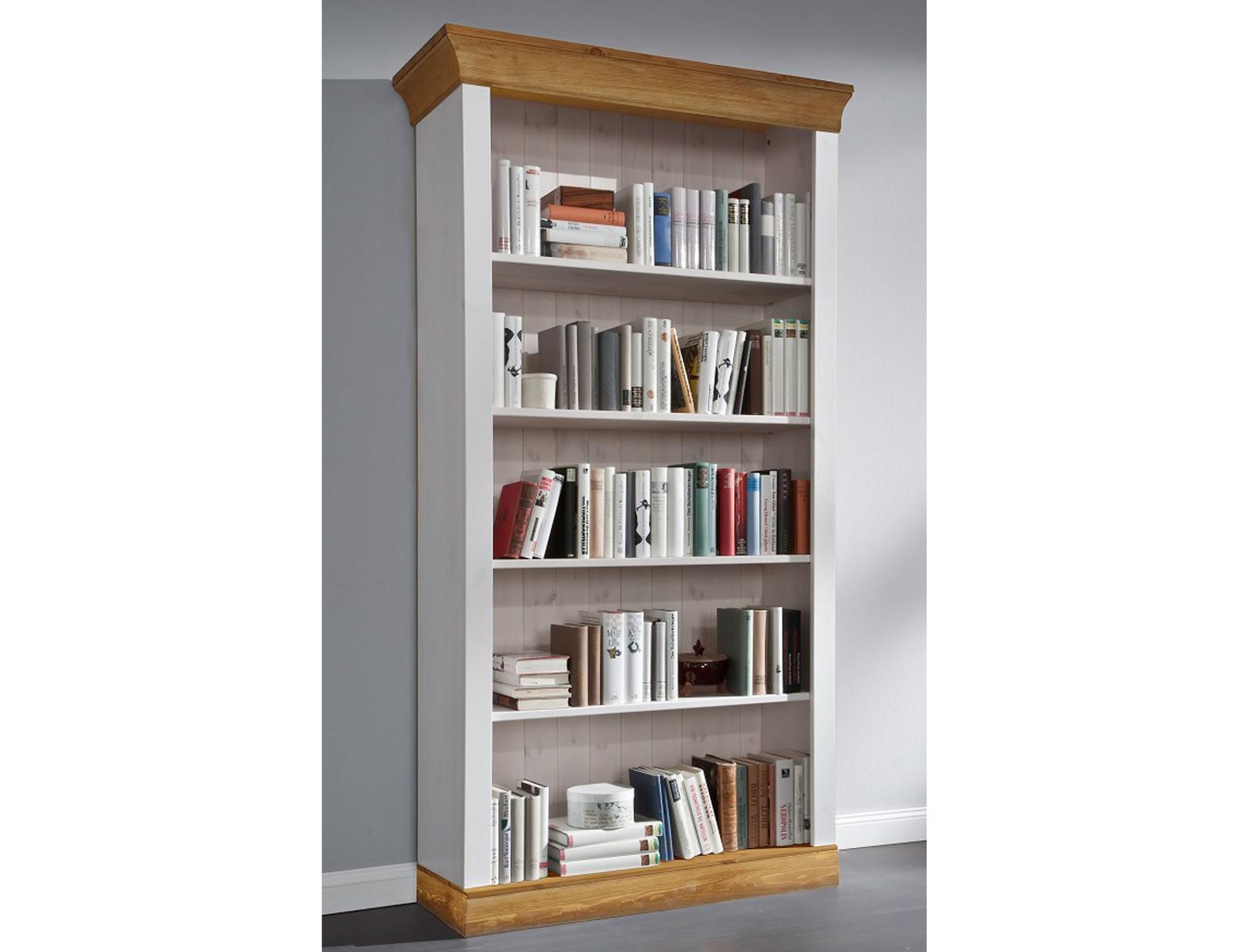 Bücherregal Bergen Landhausstil