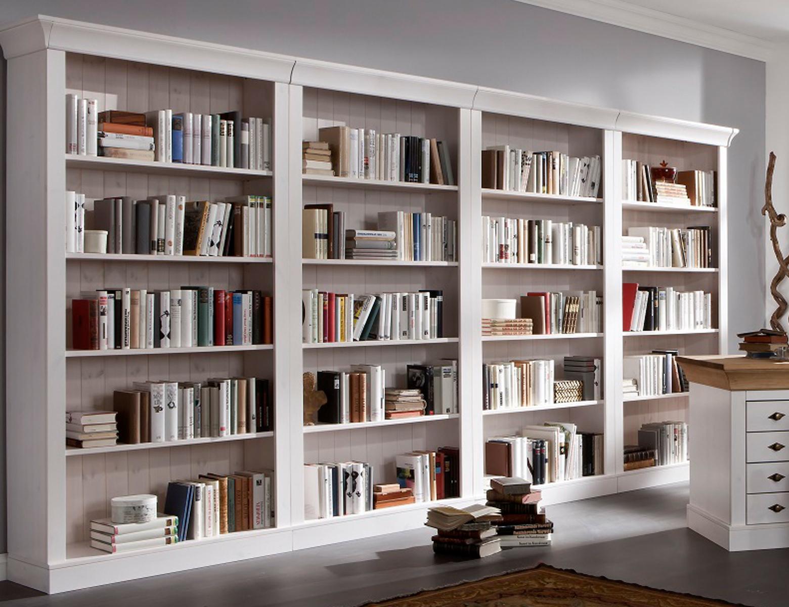Bücherregal Bergen Landhausstil, Bild 7