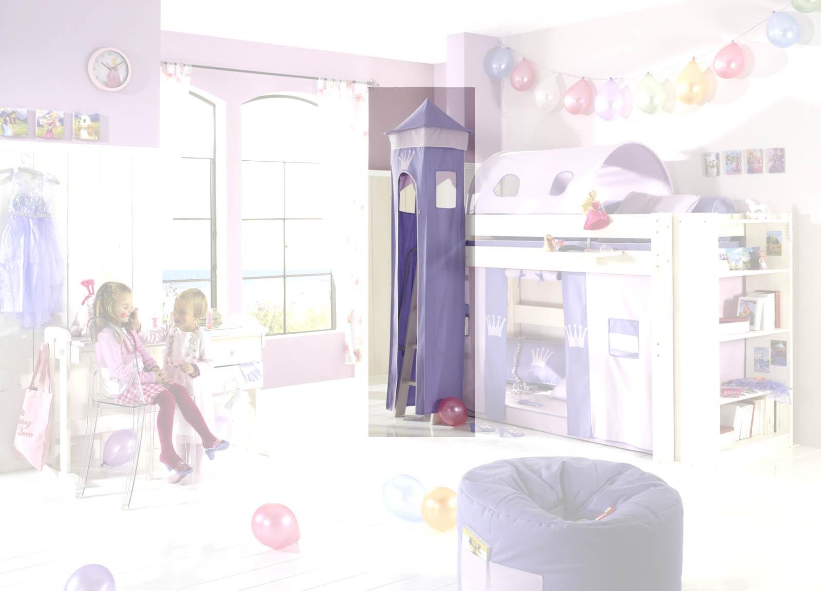 Dolphin Kinderzimmer Halbhochbett Lavendeltraum, Bild 5