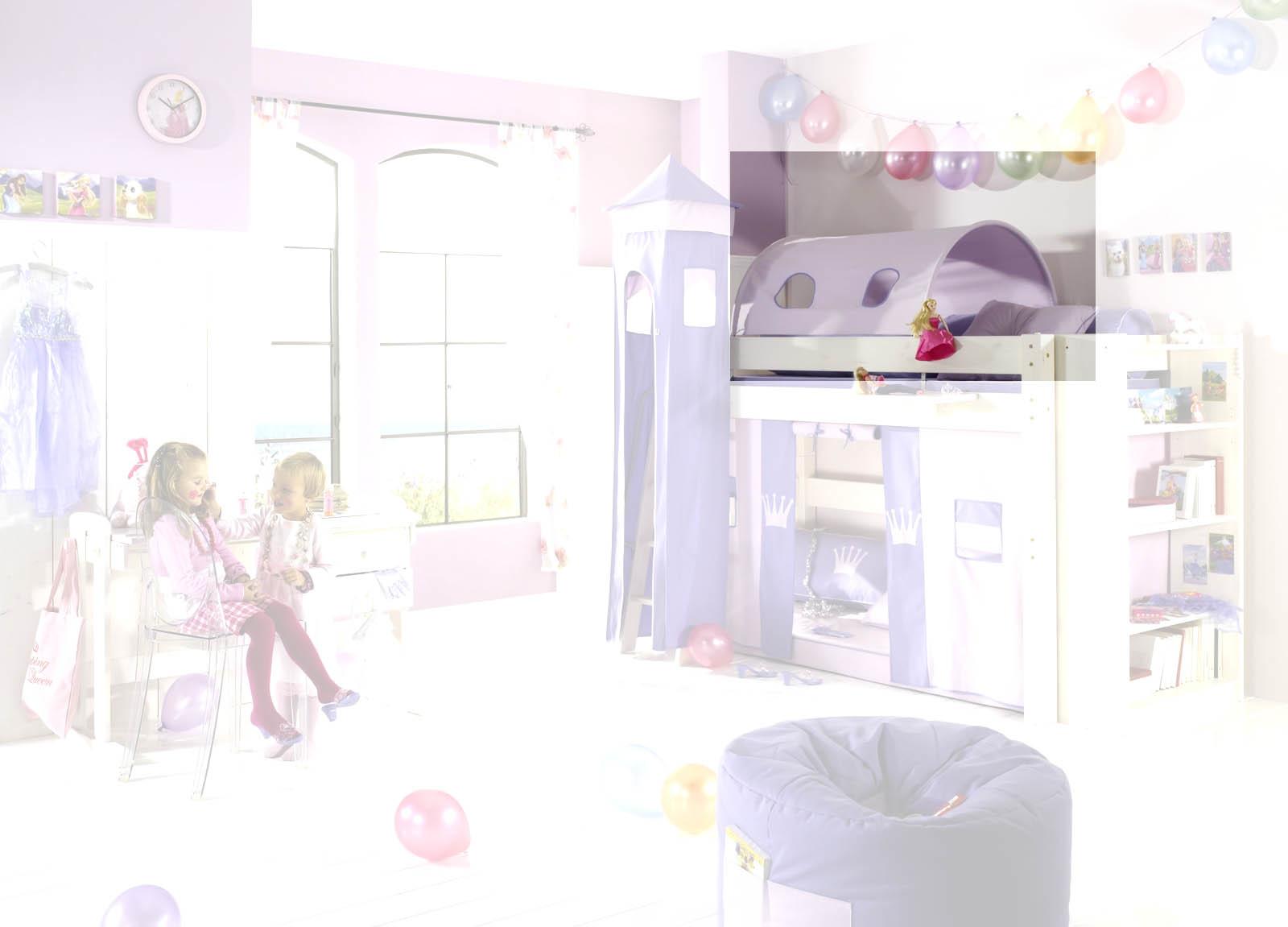 Dolphin Kinderzimmer Halbhochbett Lavendeltraum, Bild 4