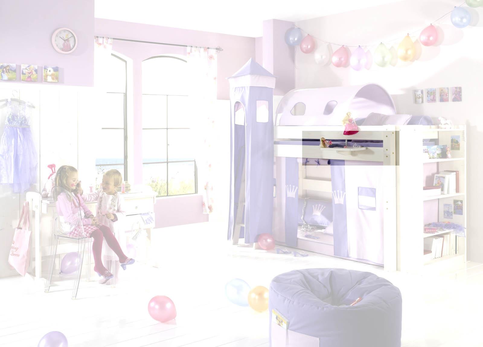 Dolphin Kinderzimmer Halbhochbett Lavendeltraum, Bild 7