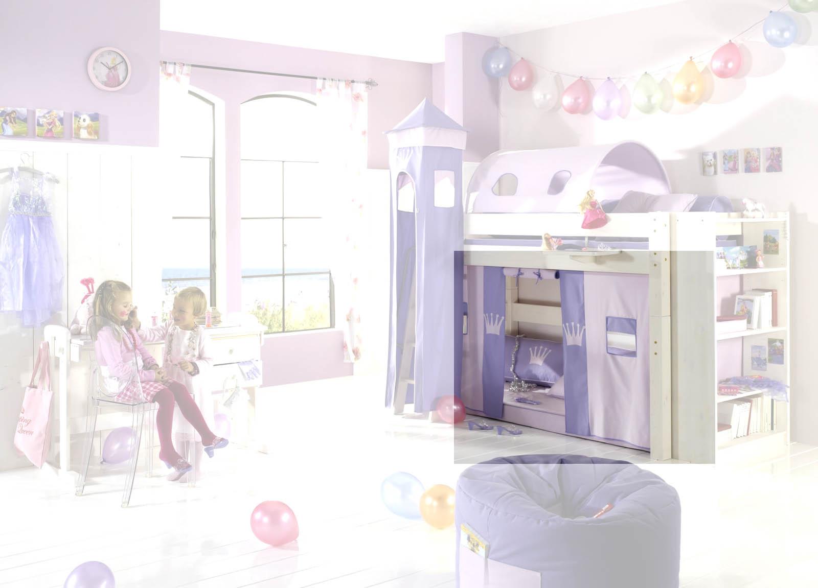 Dolphin Kinderzimmer Halbhochbett Lavendeltraum, Bild 6