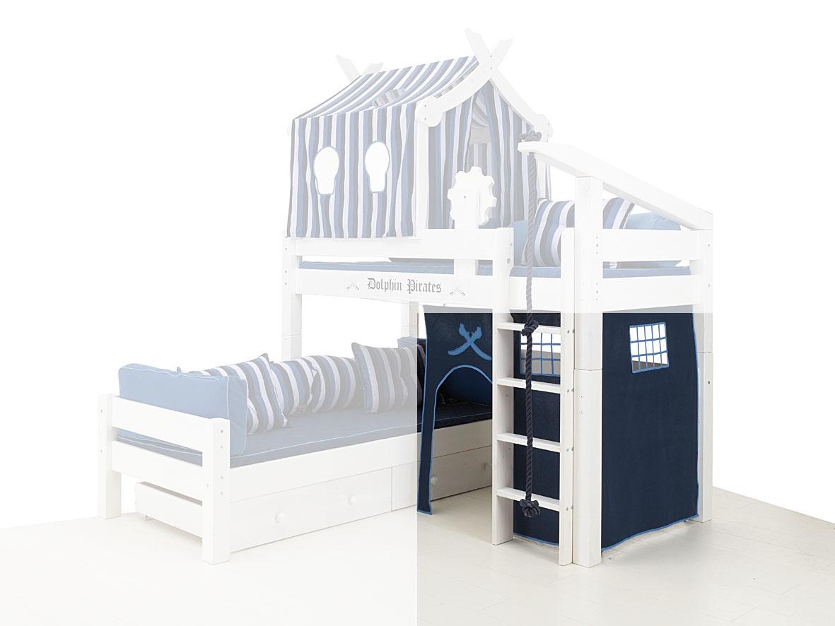 Etagenbett Kinder über Eck : Kinder doppelbett hochbett etagenbett bibop mit leiter in dortmund