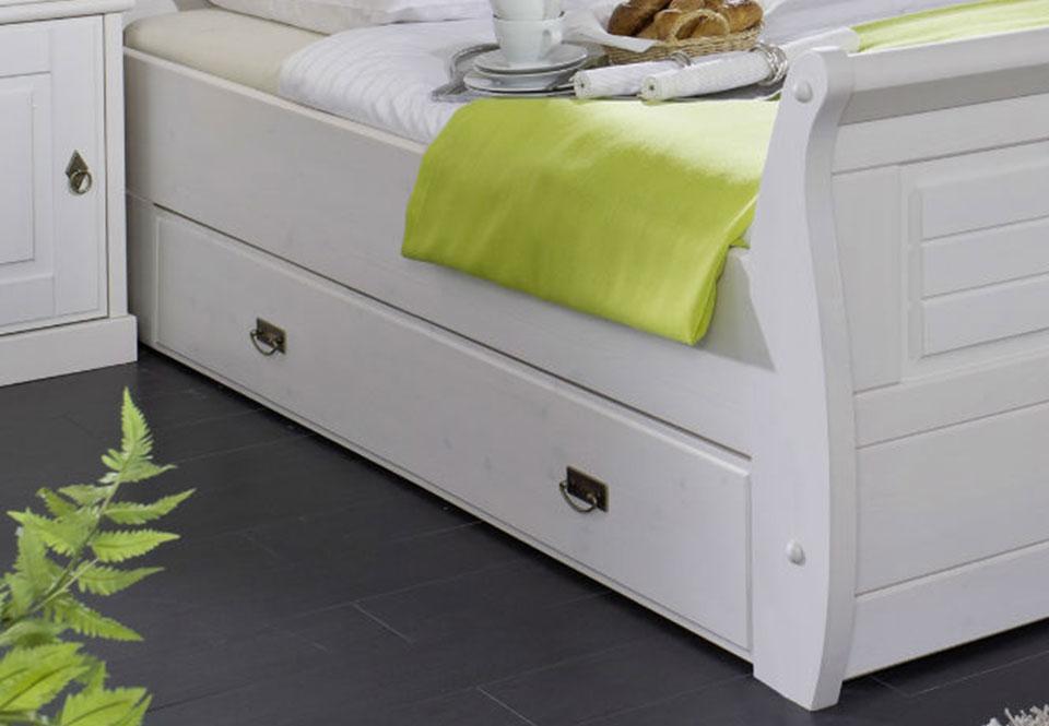 Einzelbett skandinavisch weiß SKANDIC, Bild 5