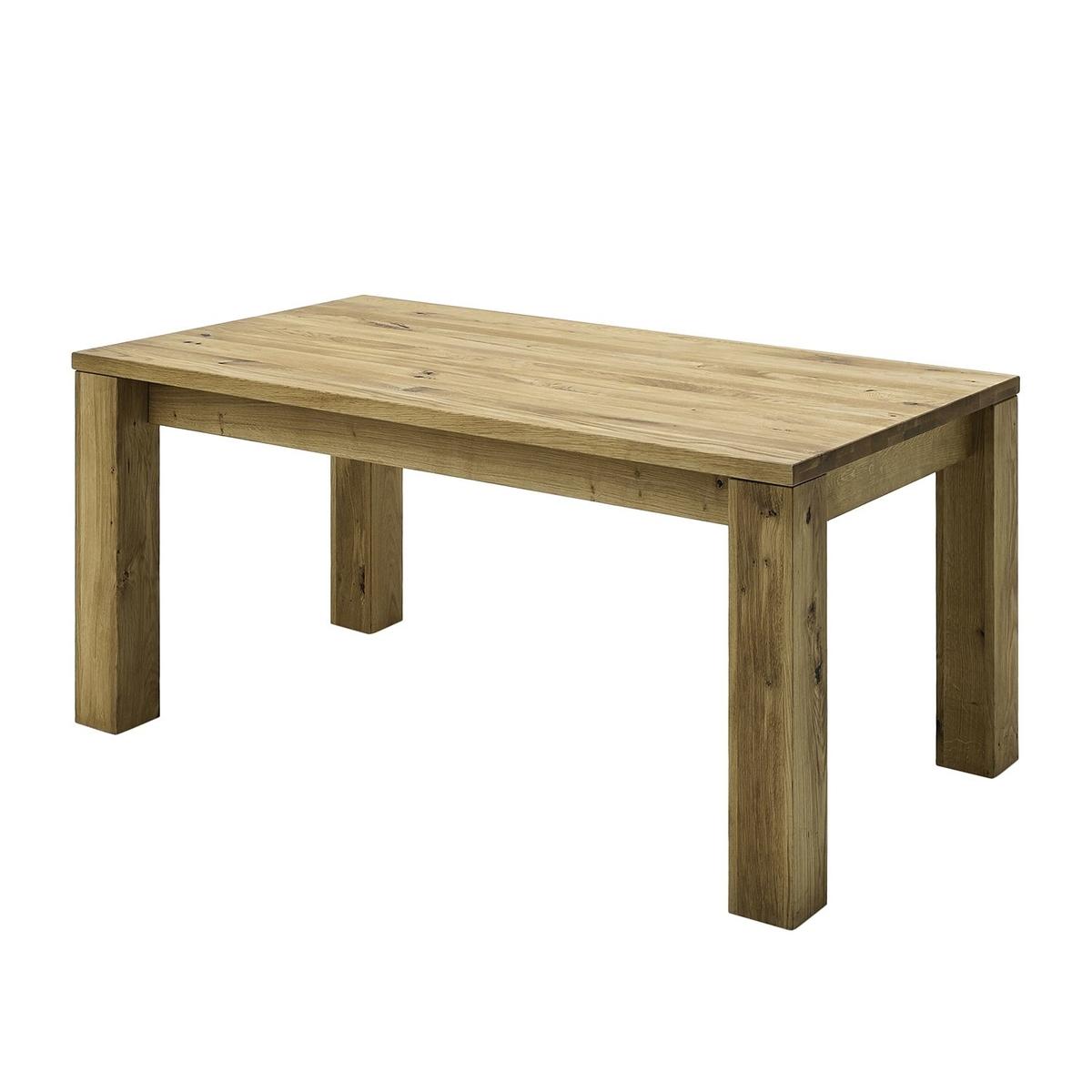 Esstisch mit Gestellauszug Lissy aus Massivholz, Bild 4
