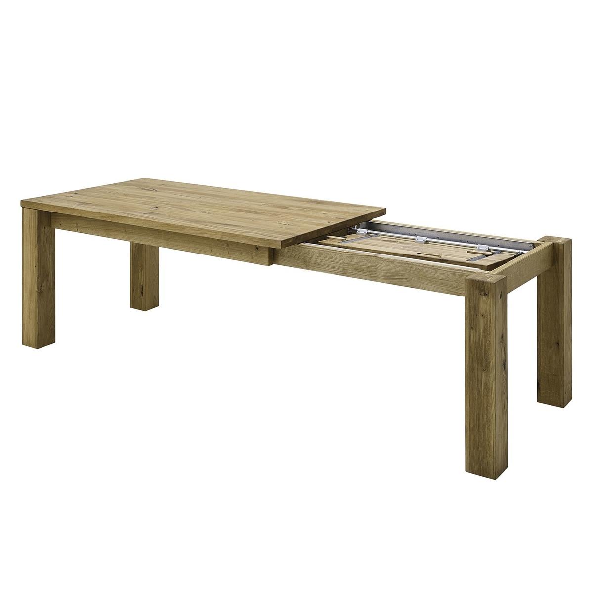 Esstisch mit Gestellauszug Lissy aus Massivholz, Bild 8