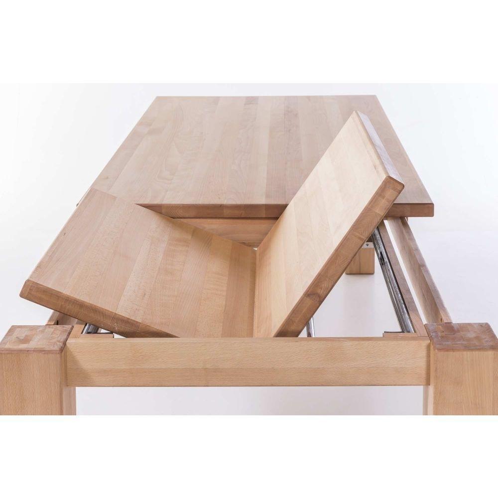 Esstisch mit Gestellauszug Lissy aus Massivholz, Bild 10