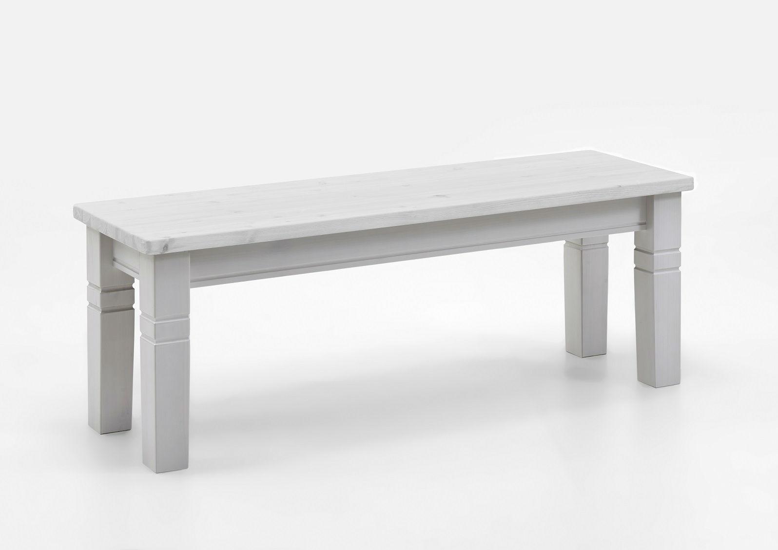 Blickfang Sitzbank Ohne Lehne Galerie Von Weiss, Weiss