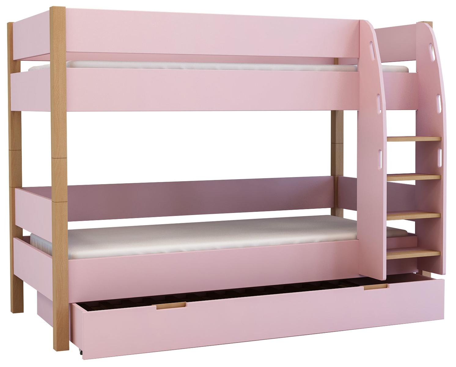 etagenbett mit g stebett f r kinder und jugendliche. Black Bedroom Furniture Sets. Home Design Ideas