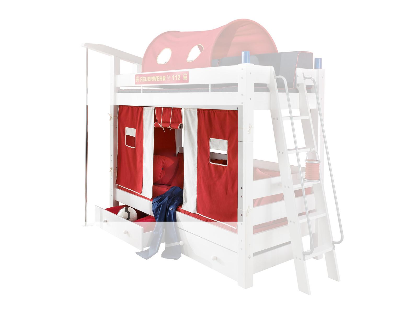 Feuerwehr Etagenbett Moby für Kinder, Bild 4