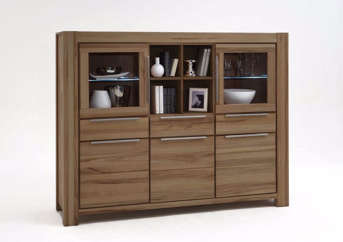 Elfo Highboard Nena aus Massivholz