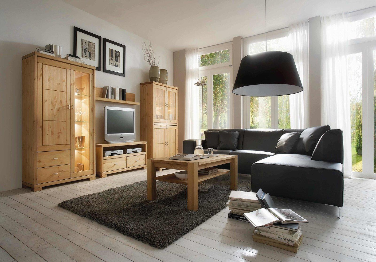 Infans Wandregal Vita fürs Wohnzimmer aus massiver Kiefer, Bild 3