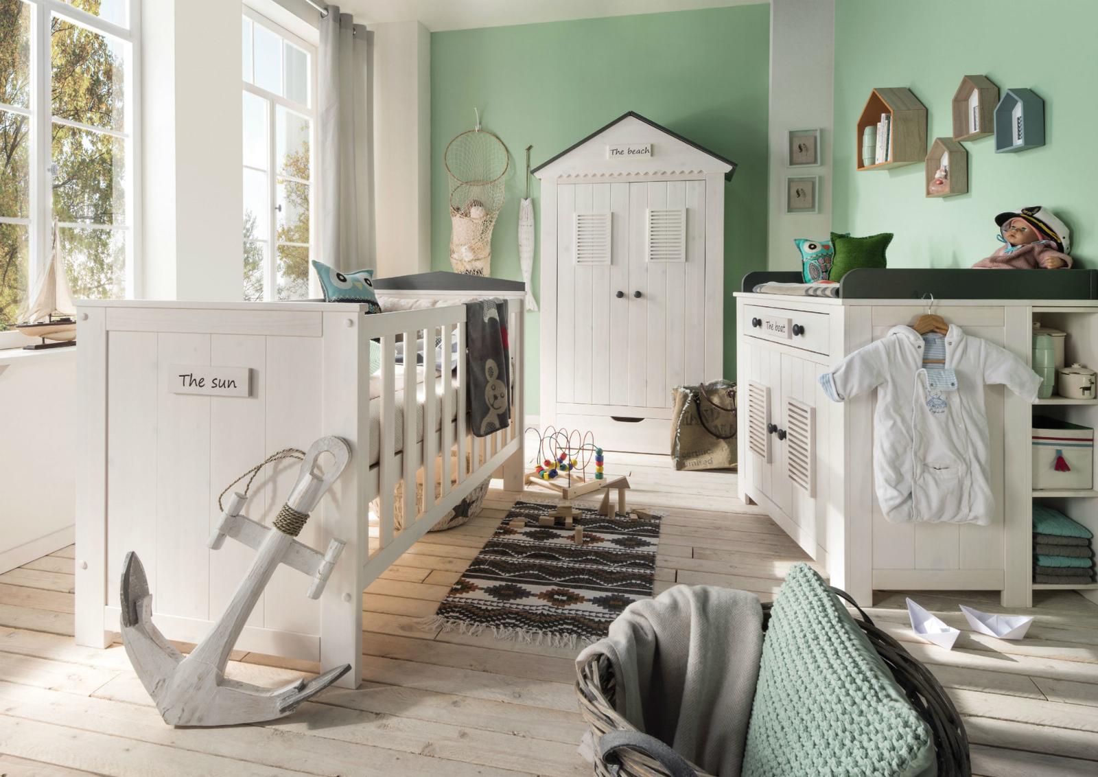 INFANSKIDS Babyzimmer Kinderzimmer Lucky Massivholz