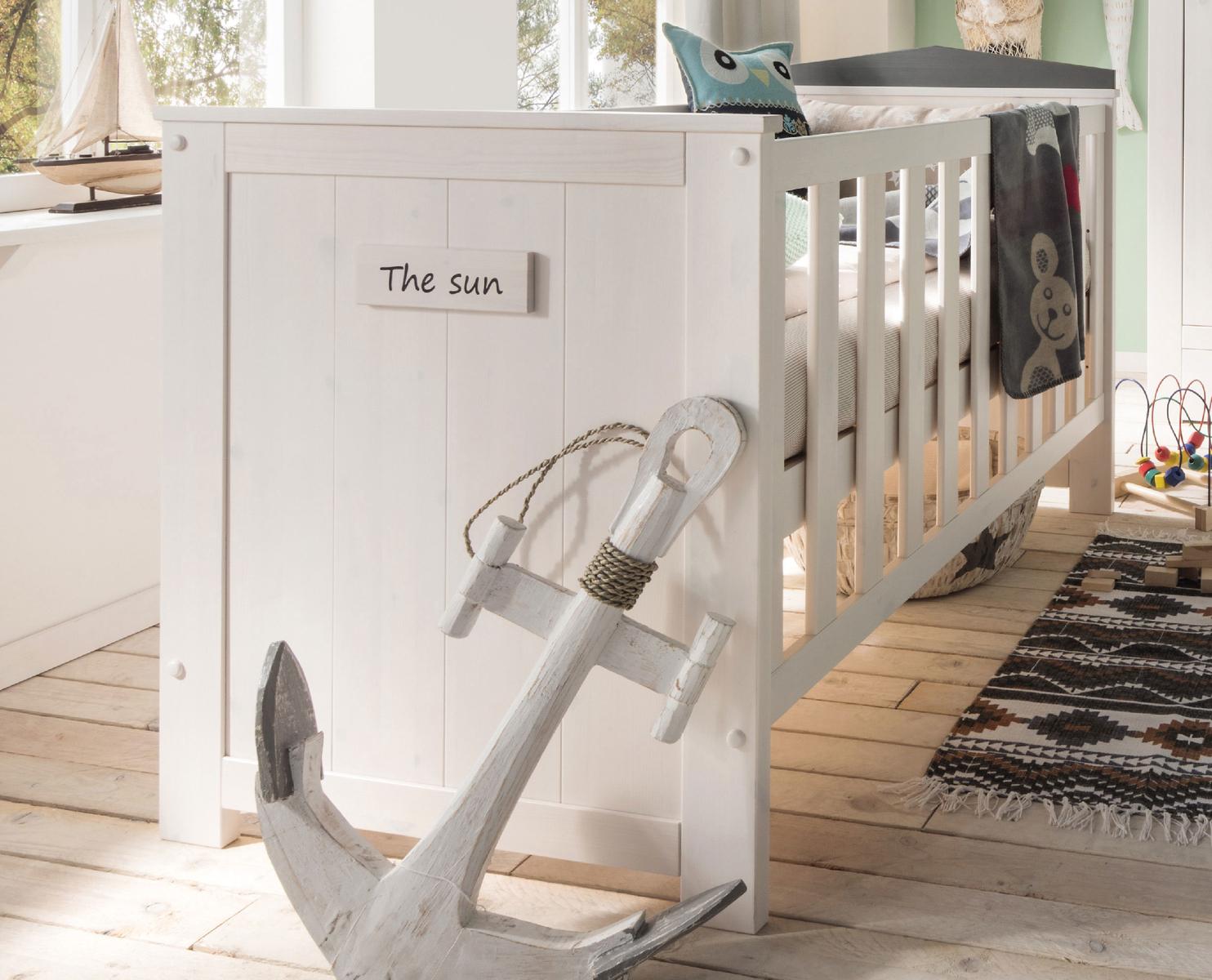 INFANSKIDS Babyzimmer Kinderzimmer Lucky Massivholz, Bild 2