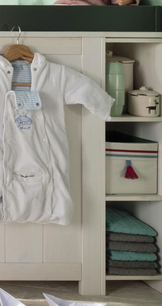 INFANSKIDS Babyzimmer Kinderzimmer Lucky Massivholz, Bild 14