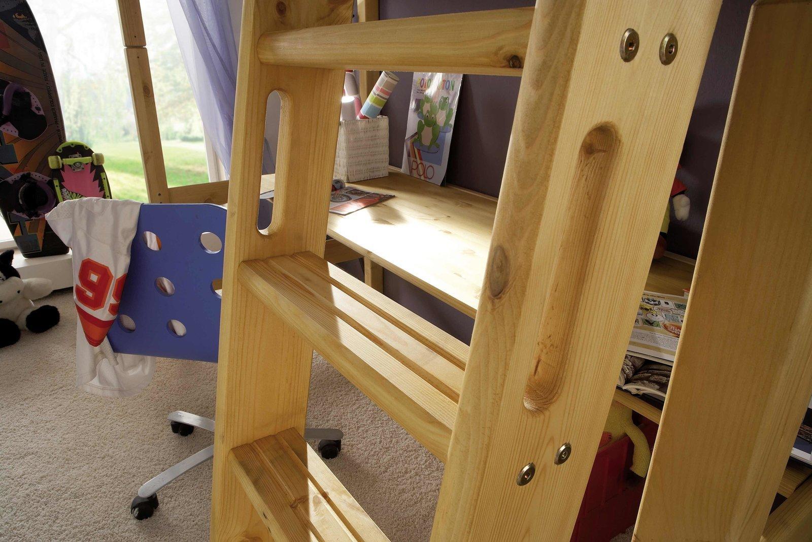 InfansKids Hochbett mit Schreibtisch, Bild 3
