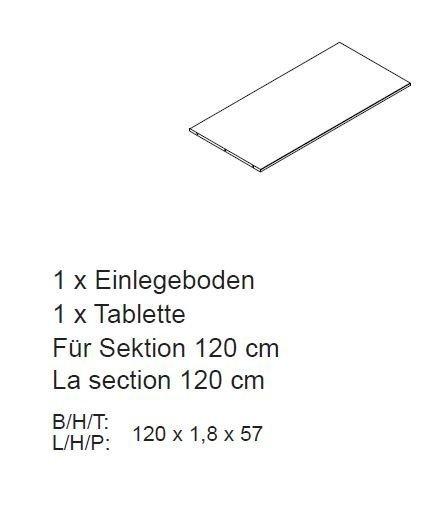 Inneneinrichtung für Kleiderschrank Rödemis, Bild 6