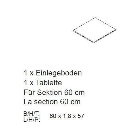 Inneneinrichtung für Kleiderschrank Rödemis, Bild 7