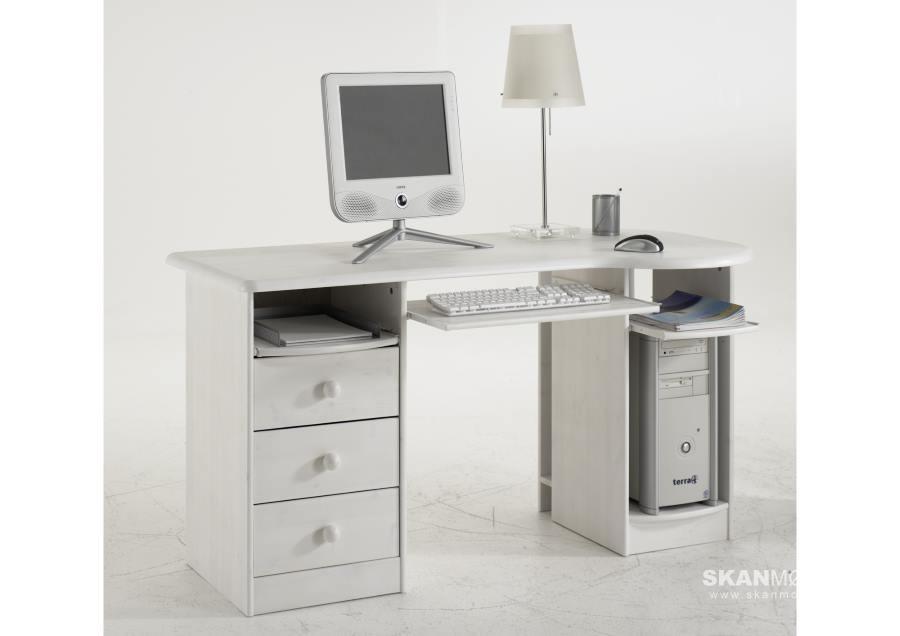 Kiefer Schreibtisch Von Moby Günstig Bestellen Skanmøbler