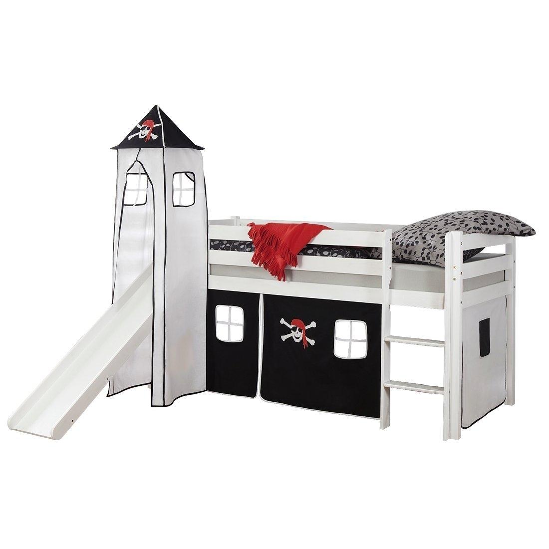 kinder hochbett aruba piratenbett mit turm und rutsche von elfo g nstig bestellen skanm bler. Black Bedroom Furniture Sets. Home Design Ideas