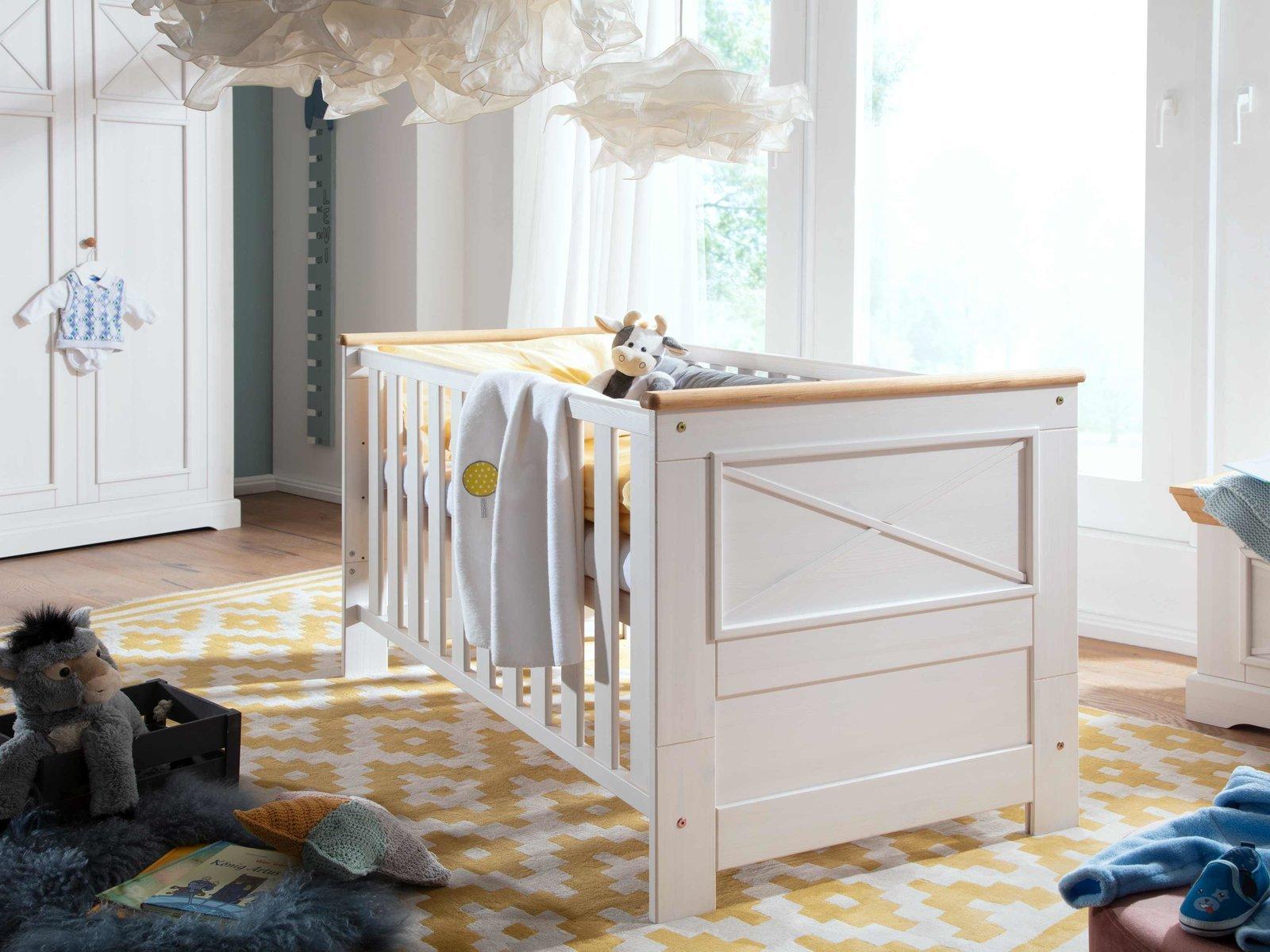 Kinderbett Babybett Karlstad Massive Kiefer