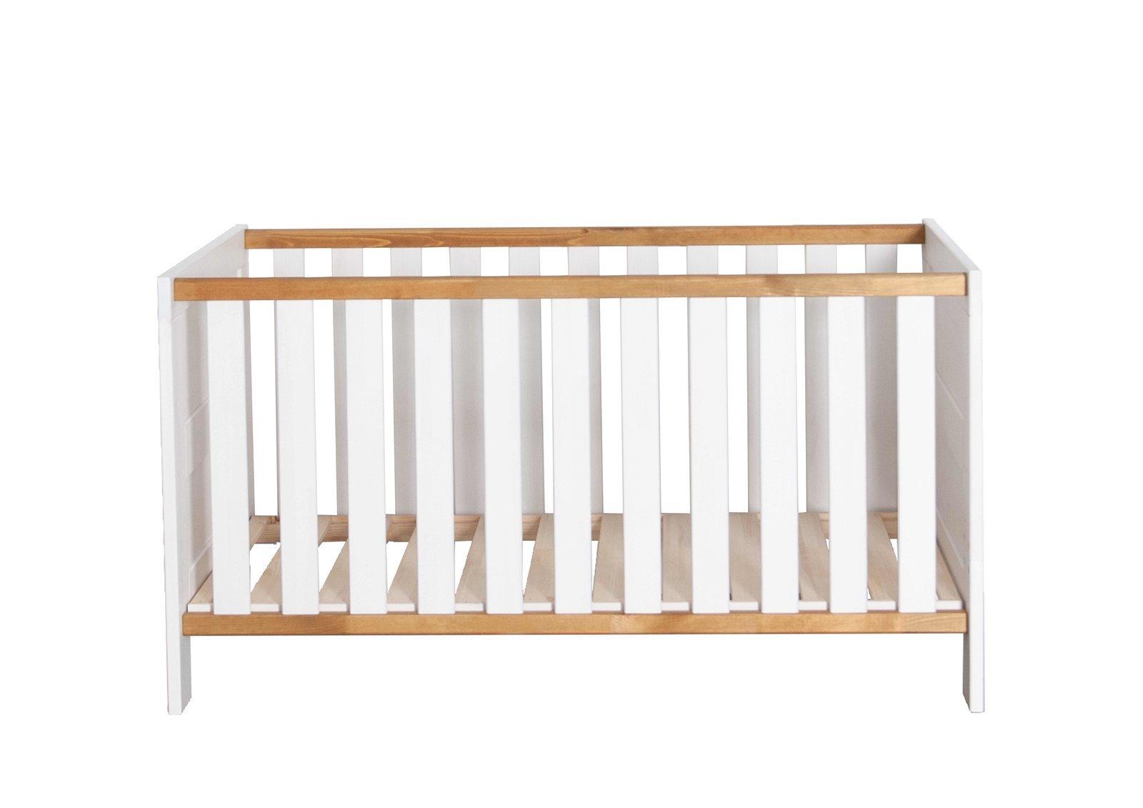 Kinderbett Babybett Karlstad Massive Kiefer, Bild 2