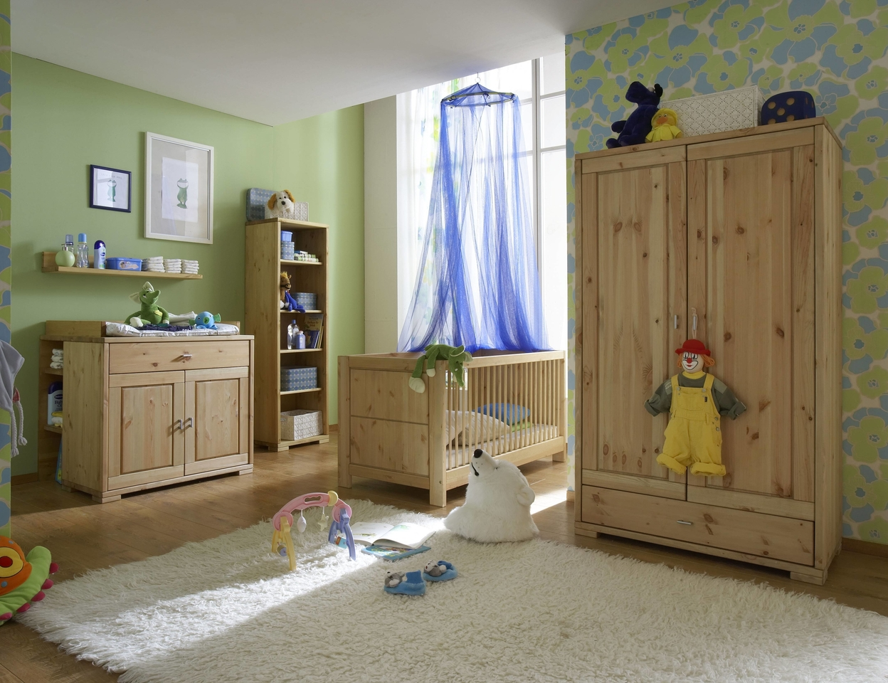 kinderzimmer guldborg kiefer massiv gelaugt ge lt von pinus g nstig bestellen skanm bler. Black Bedroom Furniture Sets. Home Design Ideas