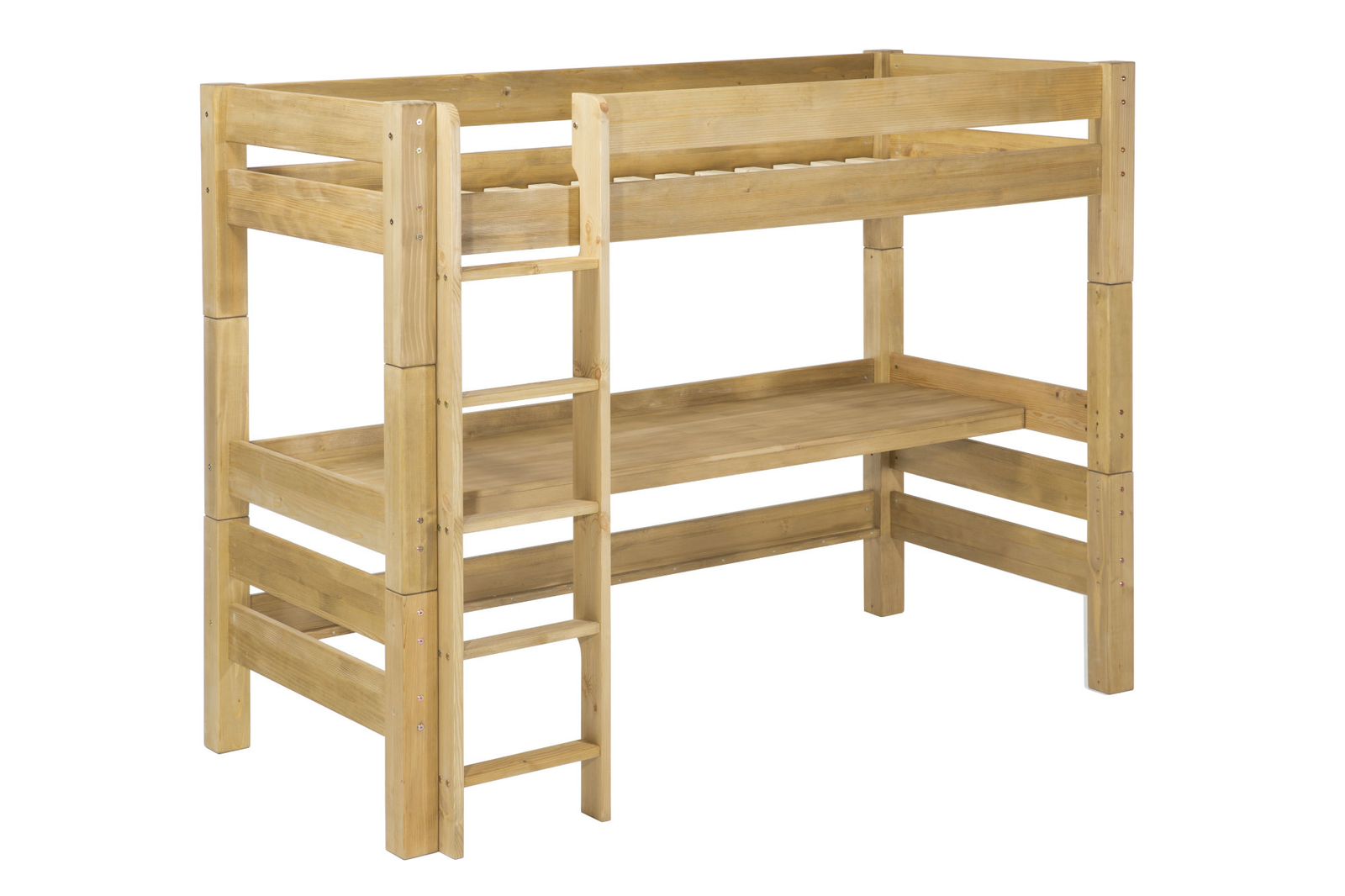 kinderzimmer hochbett mit schreibtisch von moby g nstig. Black Bedroom Furniture Sets. Home Design Ideas