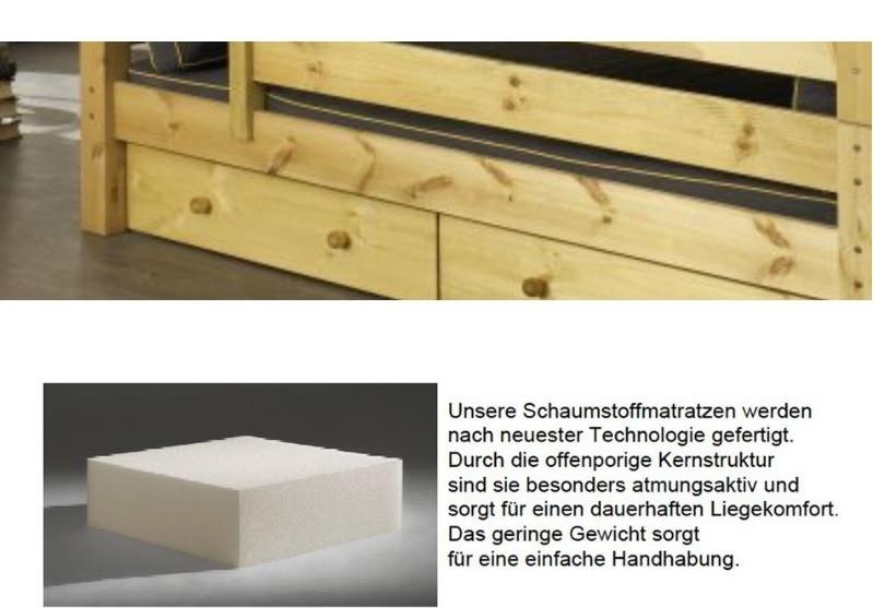 Kinderzimmer Kleine Ritterburg - Einzelbett mit RitterTurm und Bettkasten, Bild 2