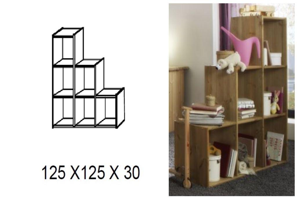 Kinderzimmer Schlafzauber, Bett mit Leiter und Rutsche, Bild 2
