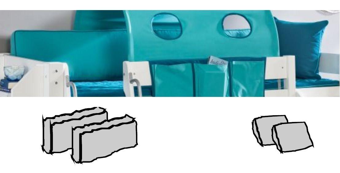 Kinderzimmer Unterwasserwelt - Halbhohes Bett mit Rutsche von Dolphin Moby, Bild 5